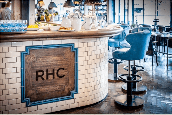 The Riding House Cafe is one of the best old school cafes to work from in London