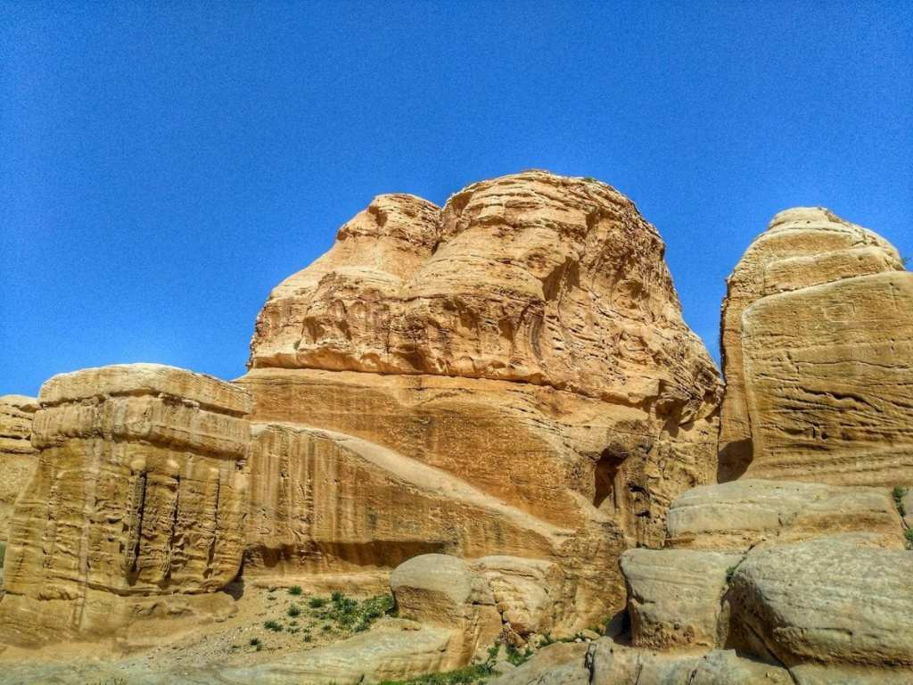 The Entrance to Visit Petra - The Natural Rock Formations Which Hide This Ancient City