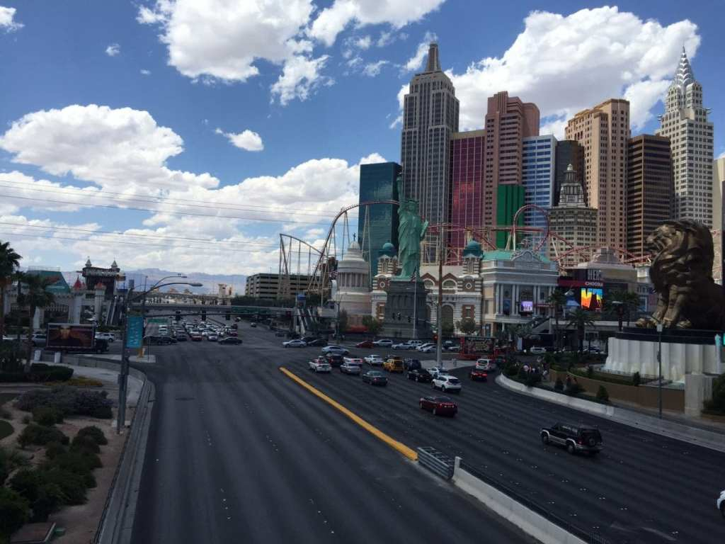 The Las Vegas Strip - The 3-2-1 Travel Rule