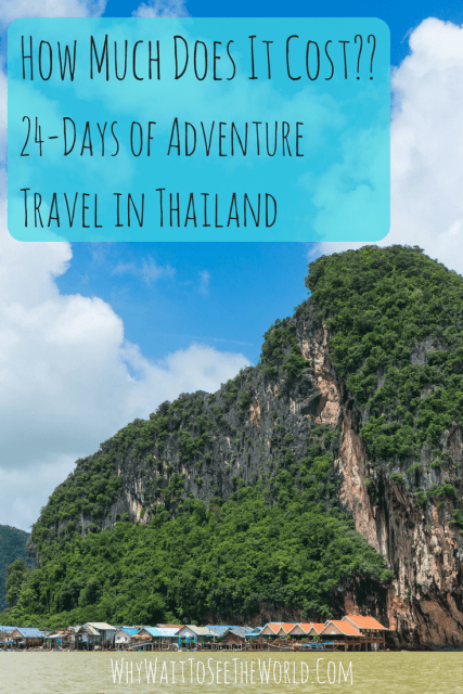 How Much Does It Cost to Travel in Thailand