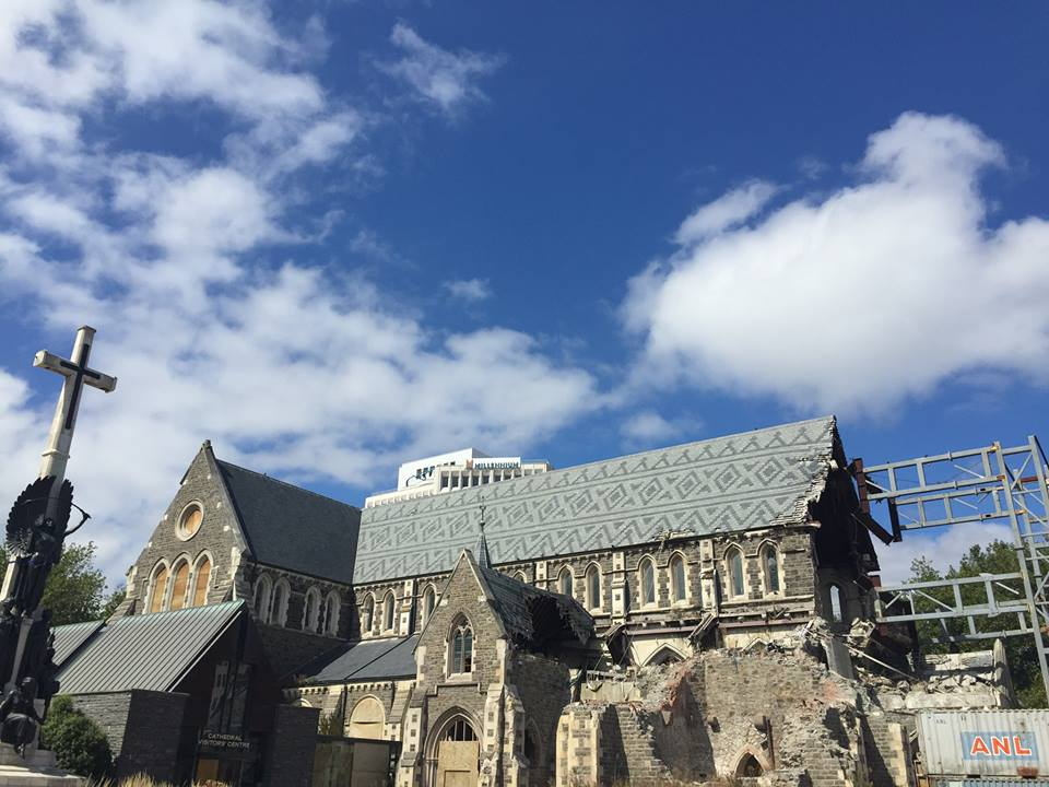 The Rebuilding of a Church in Christchurch, New Zealand