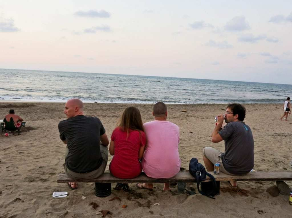 Drinking Beer on the Beach with Other Expats - Expat Life Mistake #4: Hanging Out With Only Expats