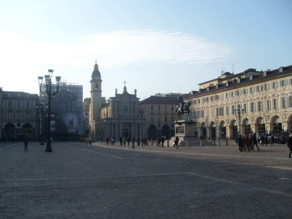 The Main Square in Turin, Italy - Get Your Graduate Degree in Europe and Explore Some Underrated Cities