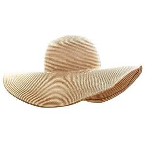 Picture of a Floppy Straw Hat - Best Gifts for Travelers for 2017