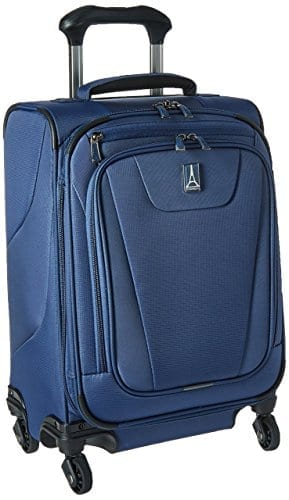 Blue Four-Wheel Spinner Suitcase - Best Gifts for Travelers