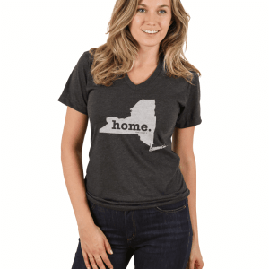 Model Wear the Home Tee - Best Gifts for Travelers