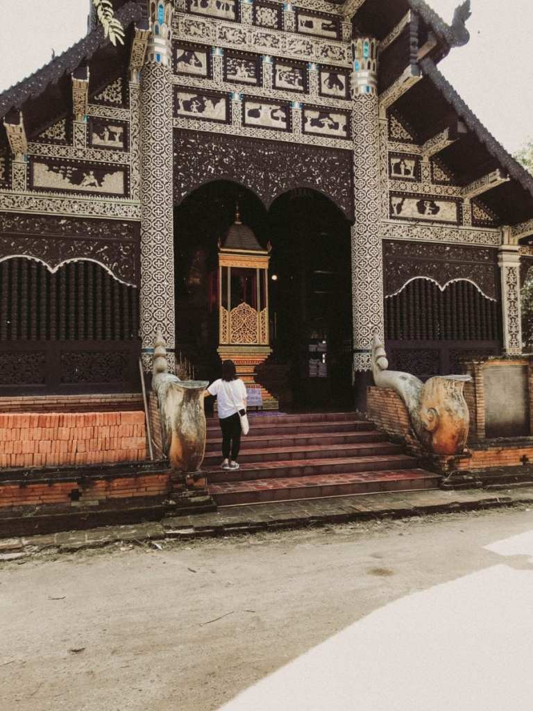 A Temple in Chiang Mai - Learn a Little Bit of Thai to Truly Experience Chiang Mai