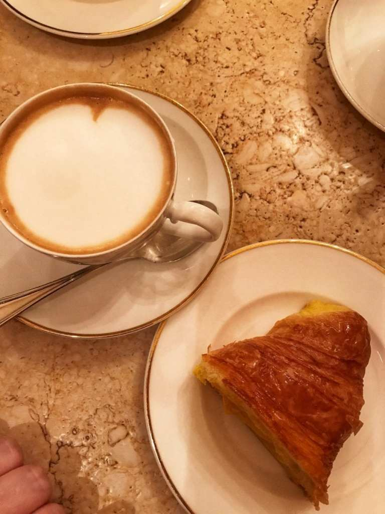 A Cappuccino and Cornetto to Start Off Our Tour with Delicious Bologna