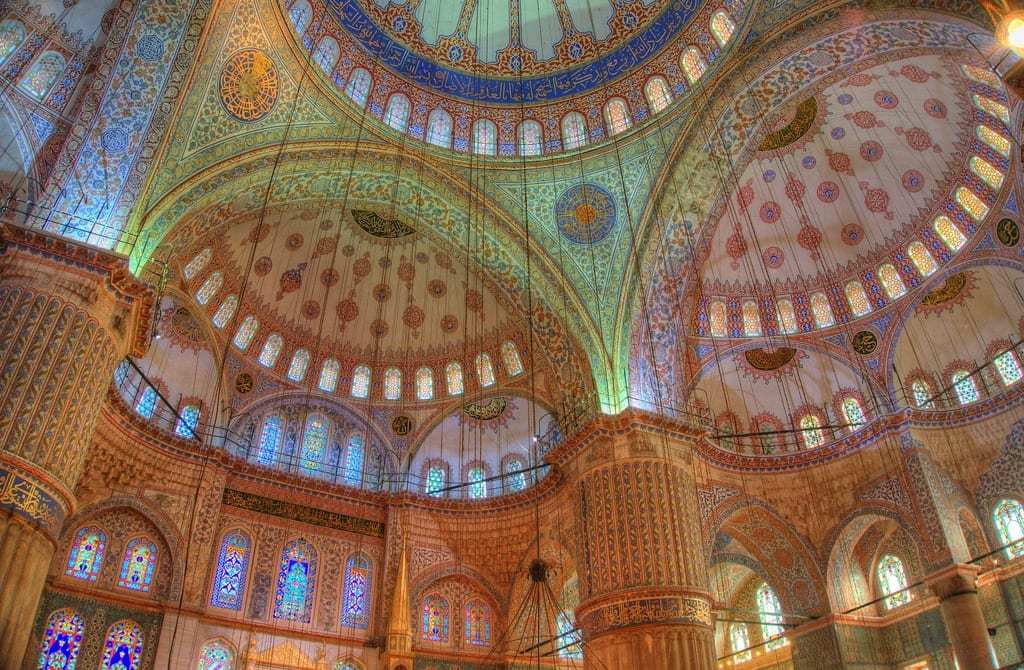 The Stunning Interior of the Blue Mosque - Istanbul and Cappadocia in Beautiful Photos