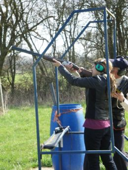 clay pigeon shooting malvern
