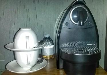 coffee machine ritz carlton hotel rooms