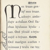 Is Welsh the oldest language?