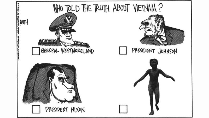 Tony Auth on Vietnam's role in his career as a political