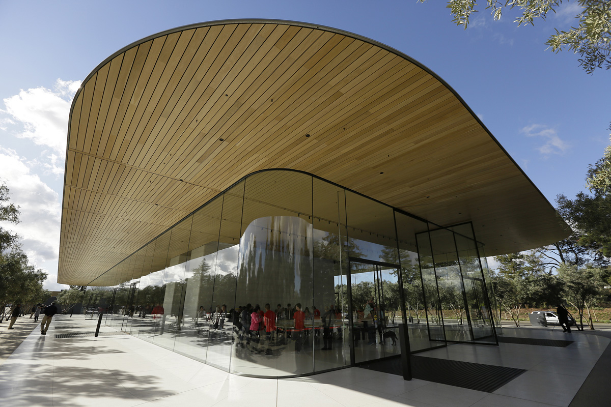 Apple to build 2nd campus hire 20000 in 350B pledge  WHYY
