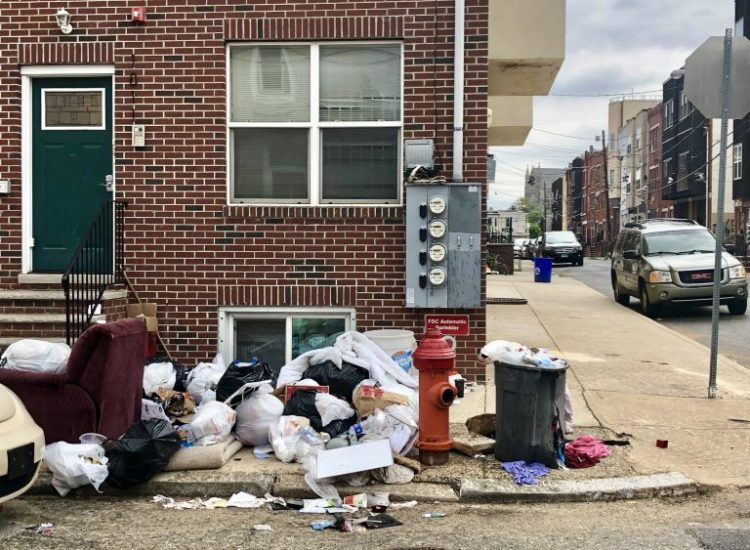 Philly trash ticketing is up 300%. It hasn't fixed the litter ...