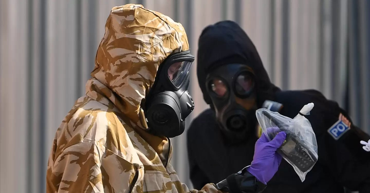 The science that explains why the novichok nerve agent isn't a huge health risk | WIRED UK