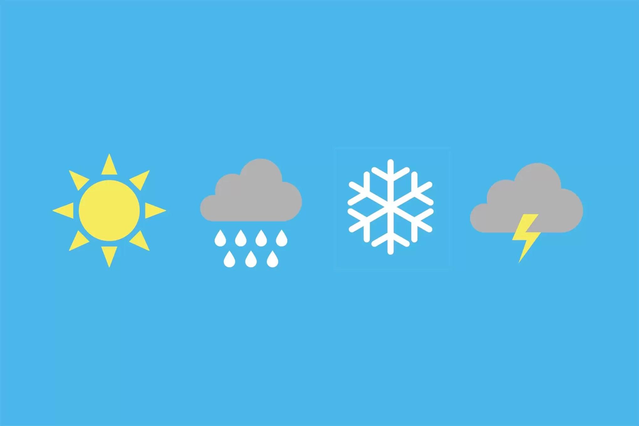 long range weather forecasts