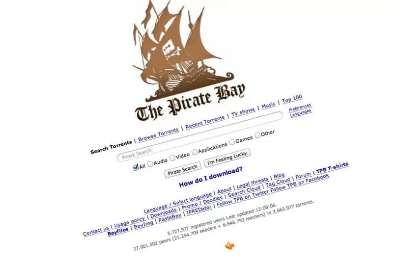 Pirate Bay mirror is proxyfriendly bypasses UK ban