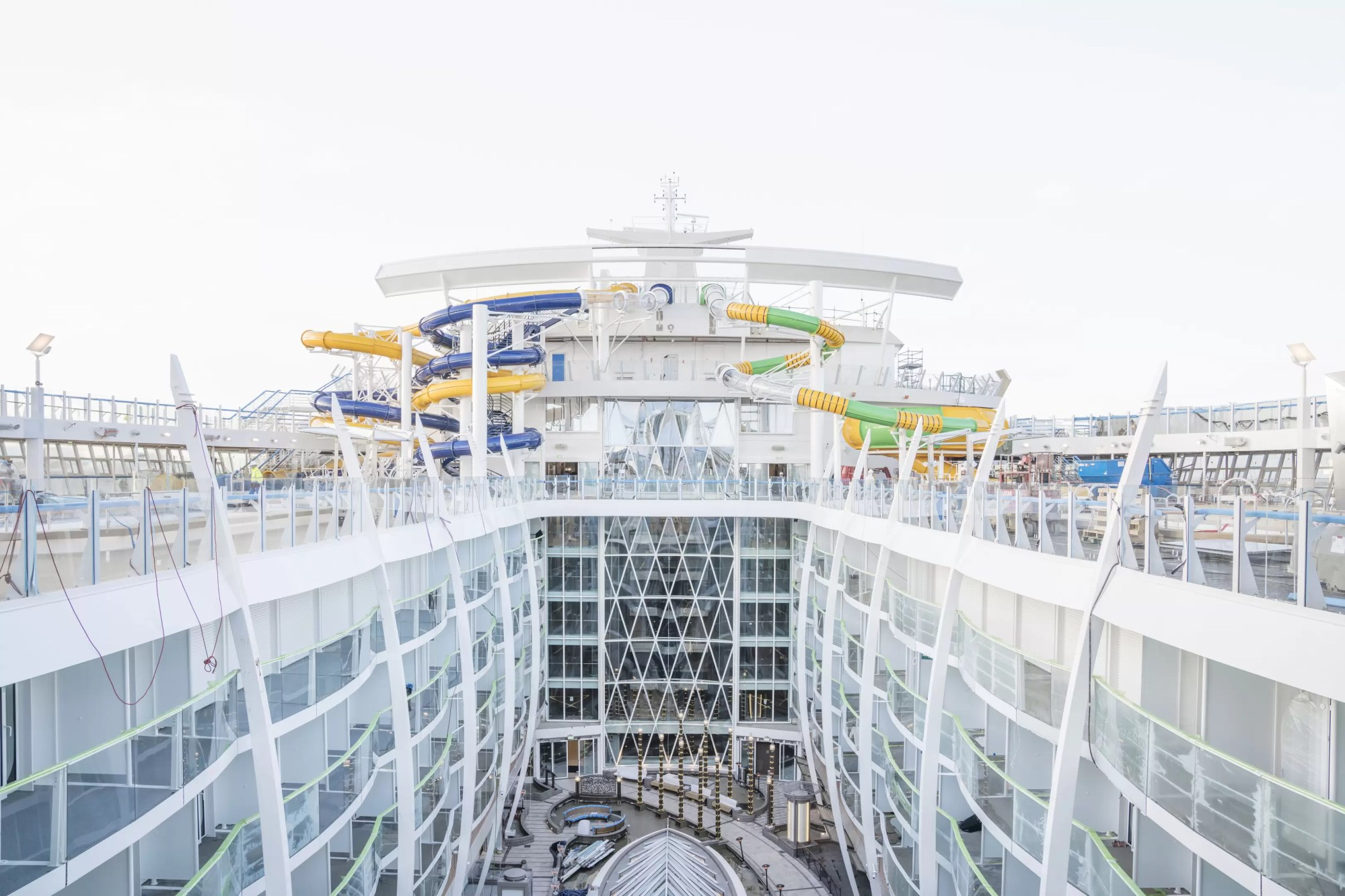 hight resolution of the dizzying story of symphony of the seas the largest and most cruise ship inside diagram
