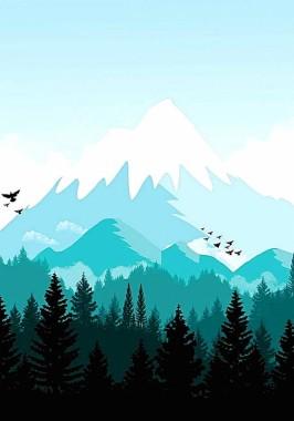 Wallpaper Pemandangan Gunung : wallpaper, pemandangan, gunung, Wallpapers, Minimalist, Wallpapers,, Wallpaper, Download, WallpaperTip