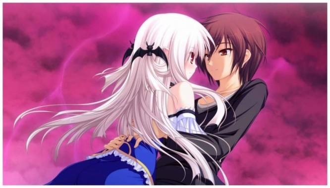 Cute Anime Couple Wallpapers Free Cute Anime Couple Wallpaper Download Wallpapertip