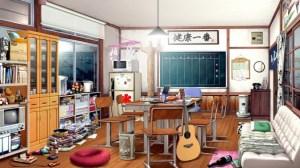 anime backgrounds landscape scenery episode interactive rooms kitchen building living wallpapertip inside cartoon animated fantasy chibi landscapes kotatsu manga animation