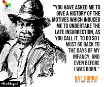 Nat Turner Black August