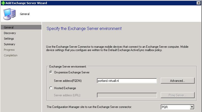 Exchange Environment