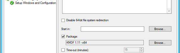 Deploy the Windows 7 Kernel Mode Driver Framework (KMDF) with ConfigMgr 2012