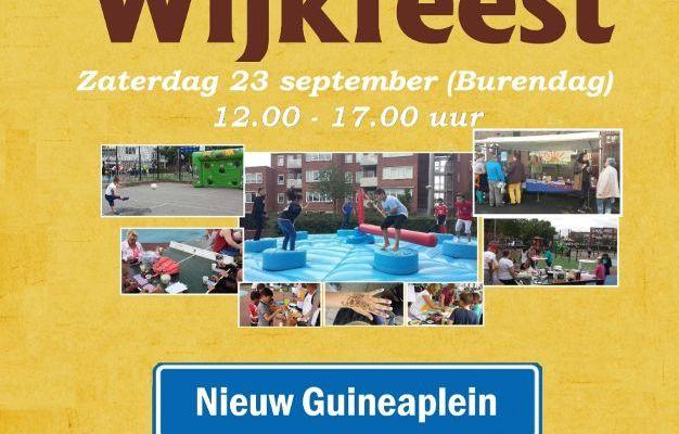 Buurtfeest IBN Haarlem september 2017