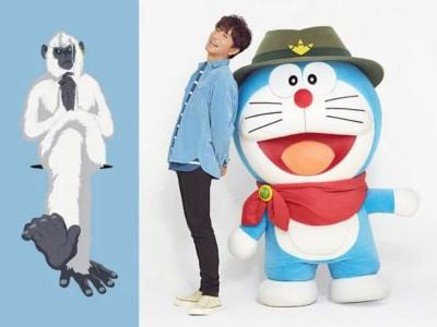 Takuya Kimura Berperan Di Film Anime Doraemon 2020 37