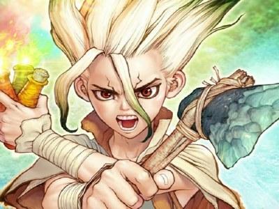 Manga Dr. Stone Dapatkan Novel Ke-2 Pada Tahun 2020 23