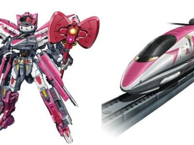 Robot Terbaru Dari Hello Kitty Adalah Transformasi Shinkalion 22