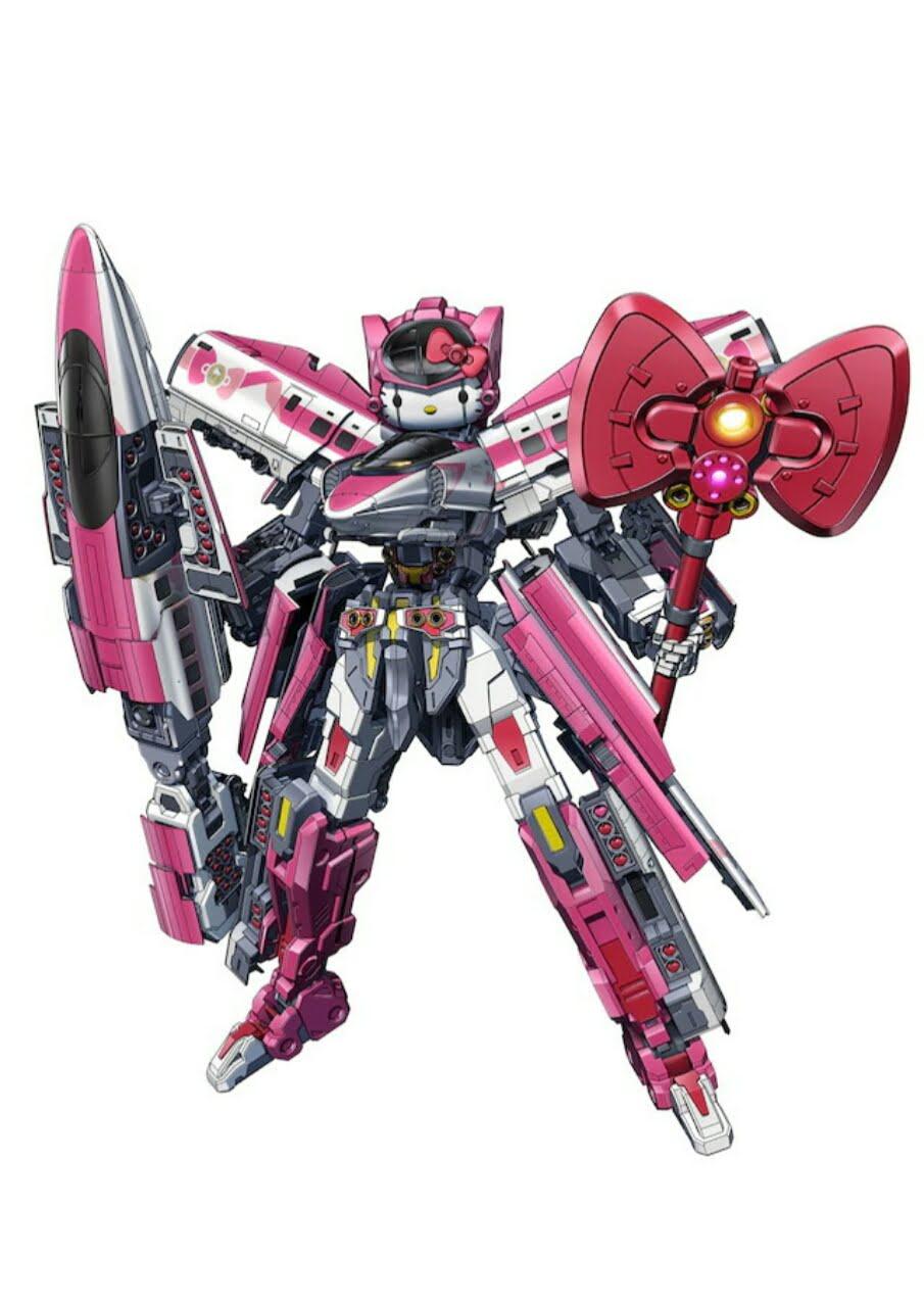Robot Terbaru Dari Hello Kitty Adalah Transformasi Shinkalion 3