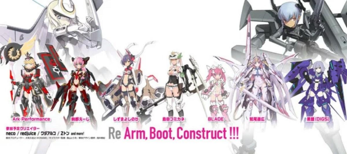 Konami Umumkan Proyek Game Smartphone dan Game Arcade Untuk Franchise Busou Shinki 4