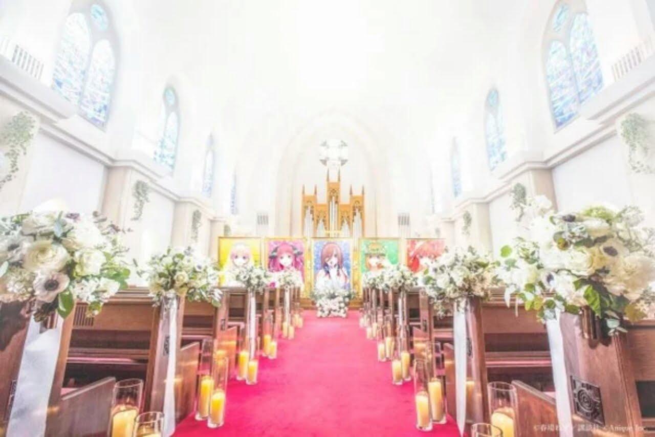 The Quintessential Quintuplets Rayakan Chapter Terakhir dengan Acara Pernikahan 1