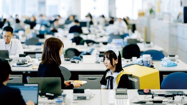 Layanan Pengiriman Maid Jepang Membawa Omurice Langsung Ke Pintu Rumahmu 2