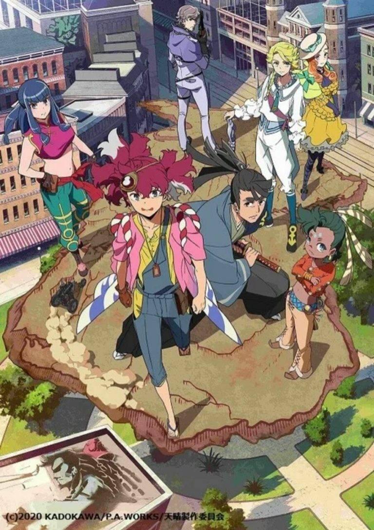 Anime Appare-Ranman! Garapan P.A. Works Dapatkan Manga pada bulan April 1