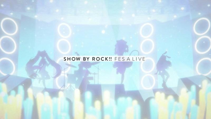 Game Smartphone Show By Rock!! Fes A Live akan Diluncurkan pada Musim Semi 1