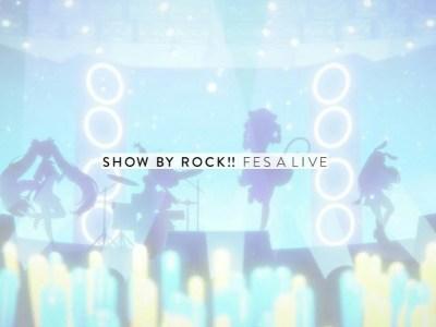 Game Smartphone Show By Rock!! Fes A Live akan Diluncurkan pada Musim Semi 11