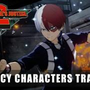 Trailer dari Game My Hero One's Justice 2 Perlihatkan Karakter Legacy 11