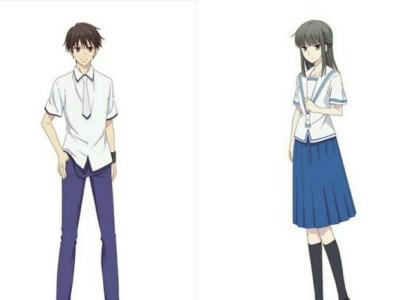 Anime Fruits Basket 2nd Season Perlihatkan Desain Karakter OSIS 49