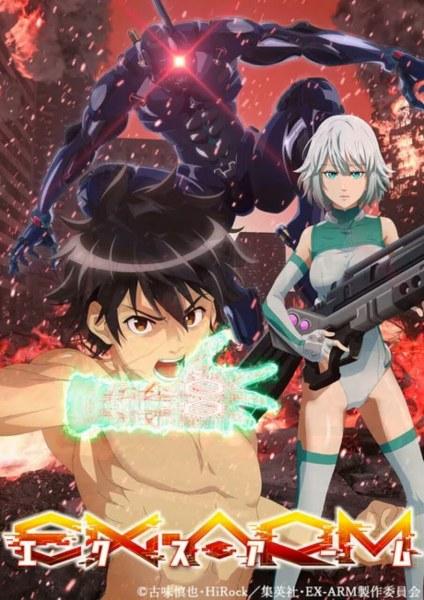 Anime TV EX-ARM Ungkap Visual dan Kapan Tayangnya 1