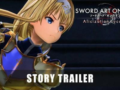 Trailer Cerita Kedua dari Game Sword Art Online Alicization Lycoris Ungkap Lagunya ReoNa 39
