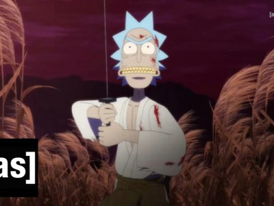 Studio DEEN Memproduksi Animasi Pendek 5 Menit Berjudul 'Samurai & Shogun' untuk Seri Animasi Rick and Morty 9