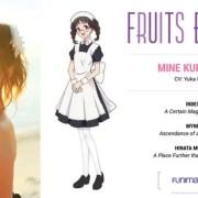Season Kedua Anime Fruits Basket Diperankan oleh Yuka Iguchi sebagai Mine Kuramae 12