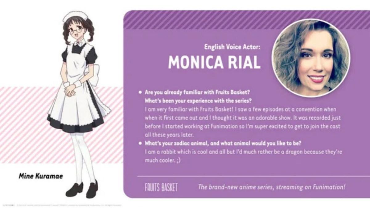 Season Kedua Anime Fruits Basket Diperankan oleh Yuka Iguchi sebagai Mine Kuramae 2