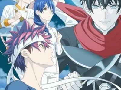 Anime Food Wars! Shokugeki no Soma Tunda Episode Baru Karena COVID-19 2