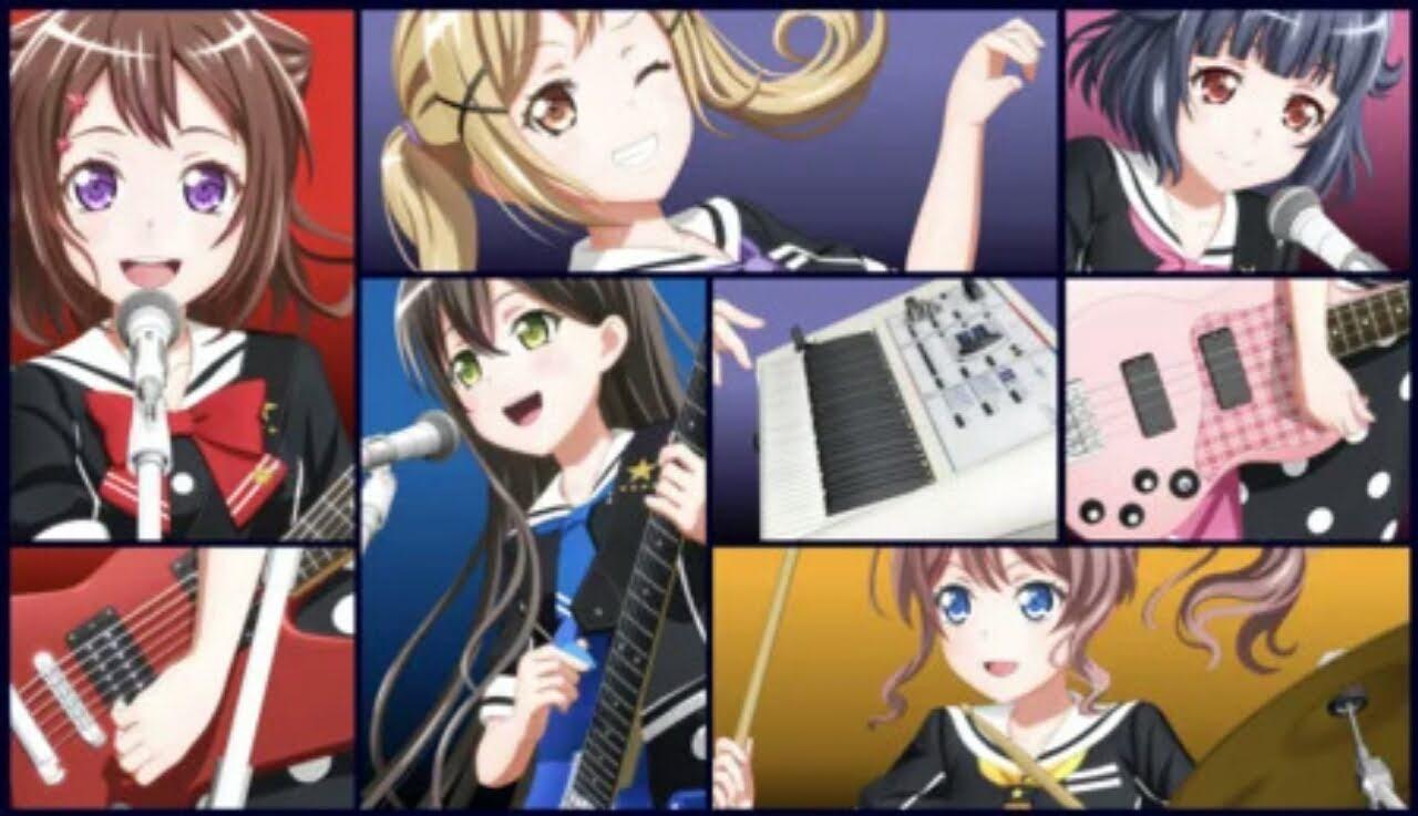 BanG Dream! Dapatkan 3 Film Anime Baru Pada Tahun 2021, 2022 1
