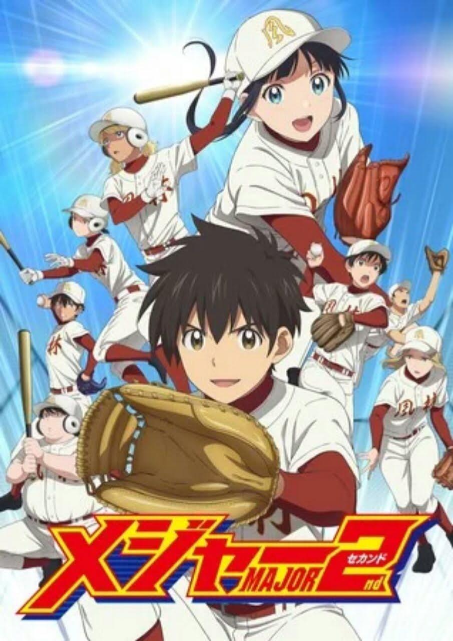 Season Kedua Anime Major 2nd Tunda Episode Baru Karena COVID-19 1